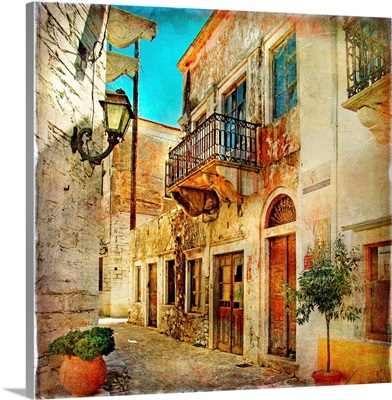 Old Pictorial Streets of Greece