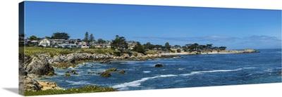 Panorama View Of Monterey Bay