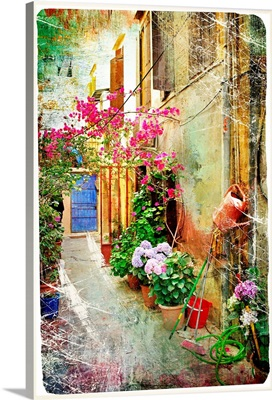 Pictorial Courtyards of Greece