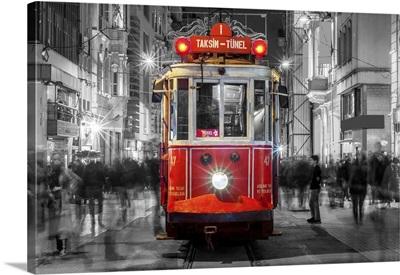 Taksim Istiklal Street, Istanbul, Turkey