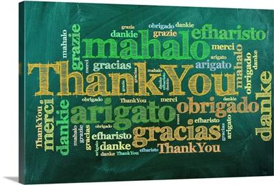 Thank You - Word Art