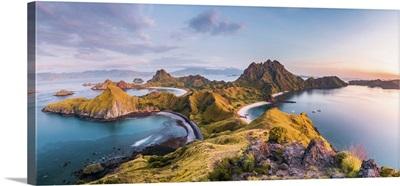 Top View Of Padar Island From Komodo Island, Labuan Bajo, Flores, Indonesia