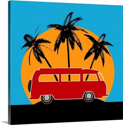 Tropical Camper Van