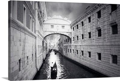 Venice - black and white photograph