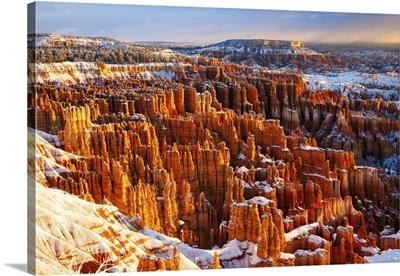Winter Morning, Bryce Canyon National Park, Utah