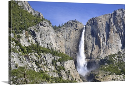 Yosemite Falls In Yosemite Valley, National Park