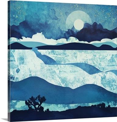 Blue Desert Night