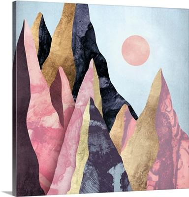 Mauve Peaks