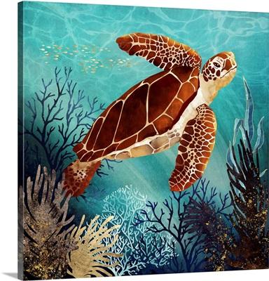Metallic Sea Turtle