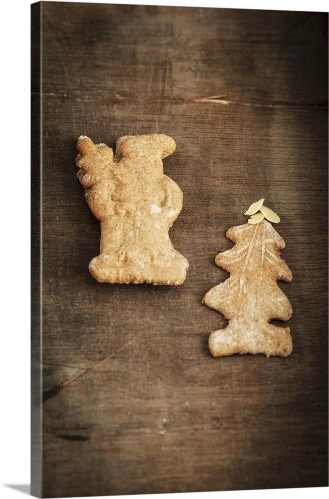 Home Made Spekulatius German Christmas Shortcrust Biscuits