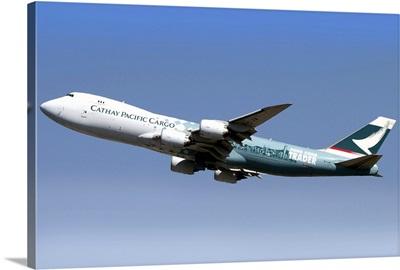 A Boeing 747-800 Cathay Pacific Cargo Hong Kong Trader