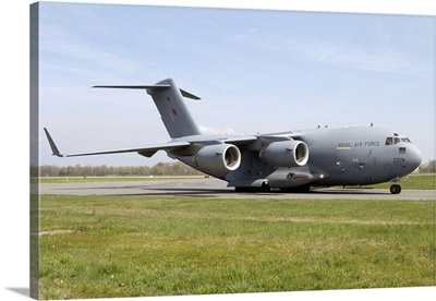A Boeing C-17 Globemaster III of the Royal Air Force