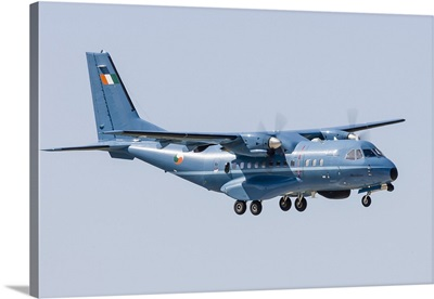A CN-235 transport aircraft of the Irish Air Corps