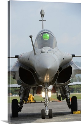 A Dassault Rafale fighter aircraft of the French Air Force