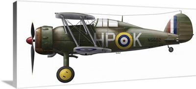 A Gloster Gladiator Mk II