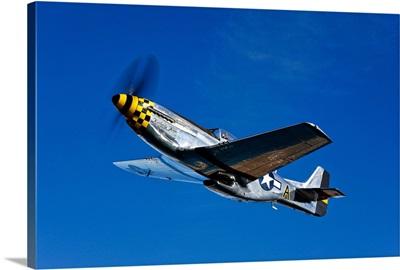 A P 51D Mustang Kimberly Kaye in flight