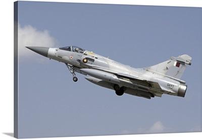 A Qatar Emiri Air Force Mirage 2000-5EDA/5DDA taking off