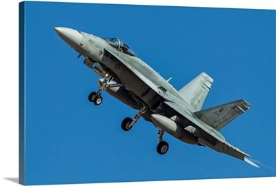 A Royal Canadian Air Force CF-188 Hornet