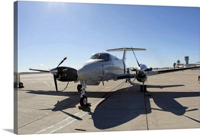 A UC12F King Air aircraft