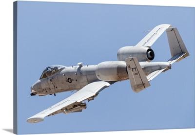 A US Air Force A-10 Thunderbolt II in flight