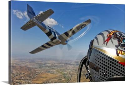 Airborne with The Horsemen Aerobatic Flight Team
