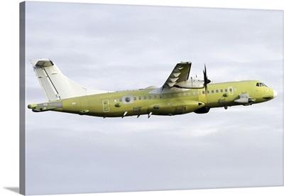 An ATR 72-600 Maritime Patrol aircraft