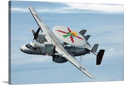 An E-2C Hawkeye in flight