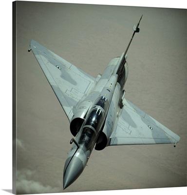 An Emirati Mirage 2000 aircraft