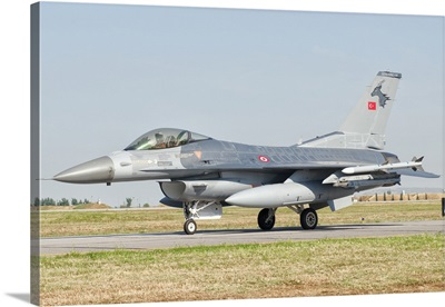 An F-16C Block 50 of the Turkish Air Force