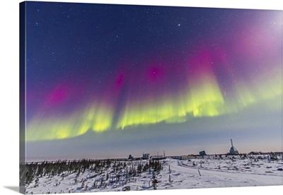 Aurora borealis seen from Churchill, Manitoba, Canada