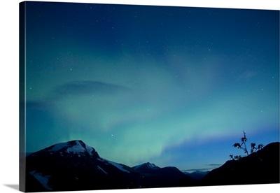 Aurora Salmon Glacier British Columbia Canada