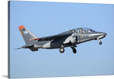 Belgian Air Force Alpha Jet taking off