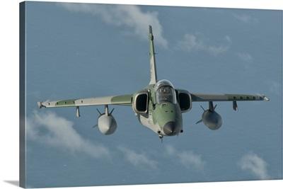 Brazilian Air Force AMX in flight over Brazil