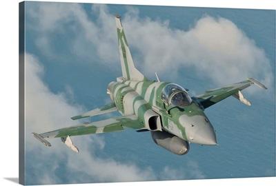 Brazilian Air Force F-5 in flight over Brazil