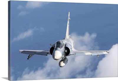 Brazilian Air Force Mirage 2000 flying over Brazil