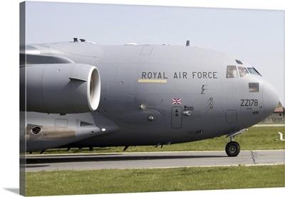 C-17 Globemaster III of the Royal Air Force