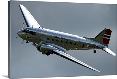 C-47 Dakota in Norwegian colours