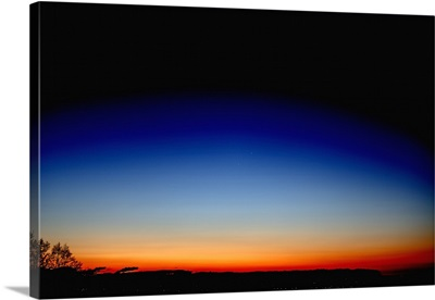 Conjunction of Mercury and Saturn at dawn near Regensburg, Germany