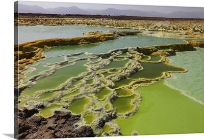 Dallol geothermal area, Danakil Depression, Ethiopia