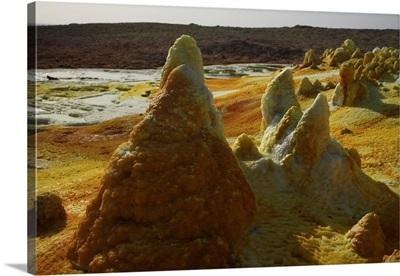 Dallol geothermal area Danakil Depression Ethiopia