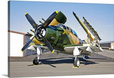 Douglas AD-5 Skyraider attack aircraft