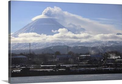 Eruption of Kliuchevskoi Volcano, Kamchatka, Russia
