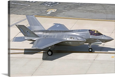 F-35B on the flight line Nellis Air Force Base, Nevada