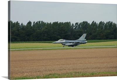 F16 of the Belgian Air Force ready for take off