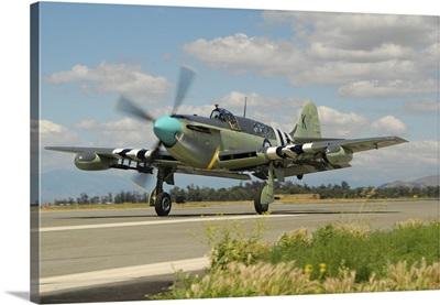 Fairey Firefly at Chino Airport, California