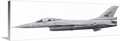 General Dynamics F-16A Fighting Falcon of the Royal Norwegian Air Force