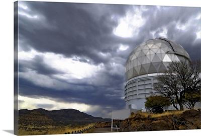 HobbyEberly Telescope observatory dome at McDonald Observatory