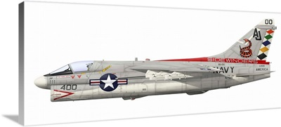 Illustration of an A-7E Corsair II
