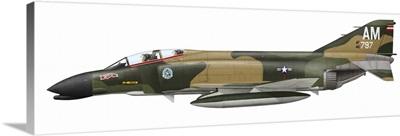 Illustration of an F-4C Phantom II of the U.S. Air Force