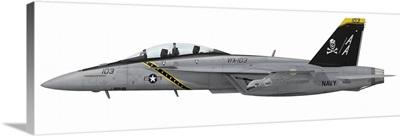 Illustration of an F/A-18F Super Hornet